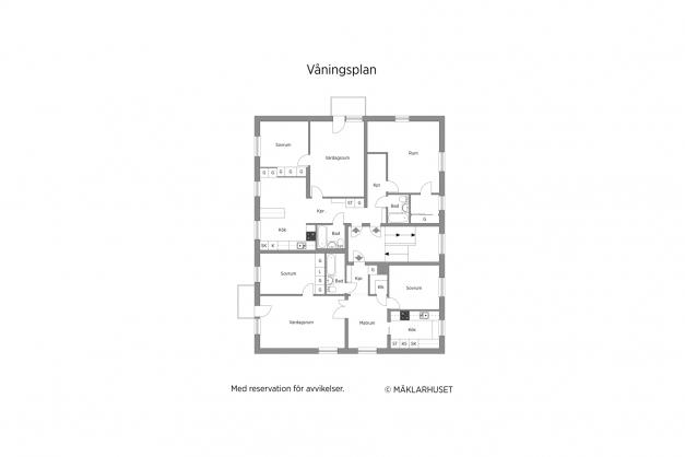 Våningsplan 1