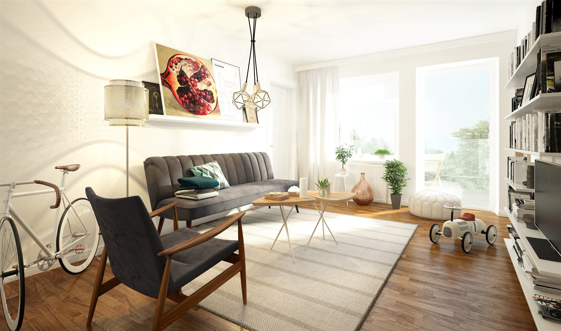 Inspirationsbild för projektet (ej av den aktuella lägenheten)