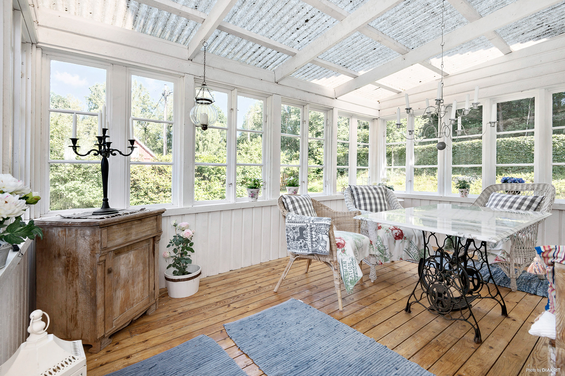 Inglasad veranda!