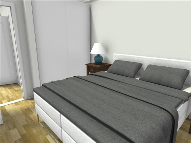 Sovrum på övre plan