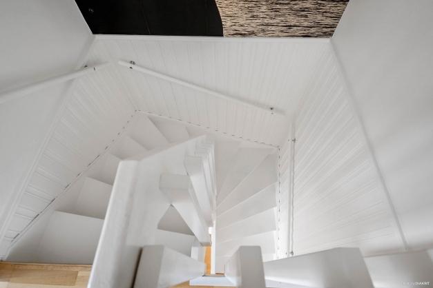 Trappan till övervåningen