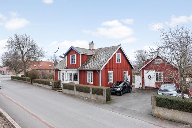 Vy från Möllegatan