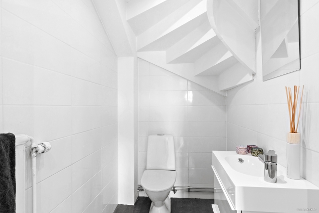 Helkaklad wc på entréplan från 2020
