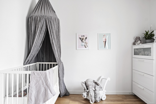 Ljust och fint sovrum