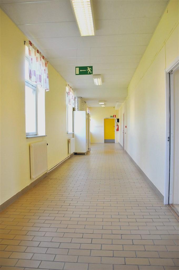 Korridor, våning två (hall till tänkt lägenhet)