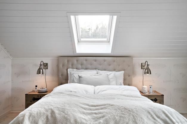 Sovrum/Allrum övervåning.
