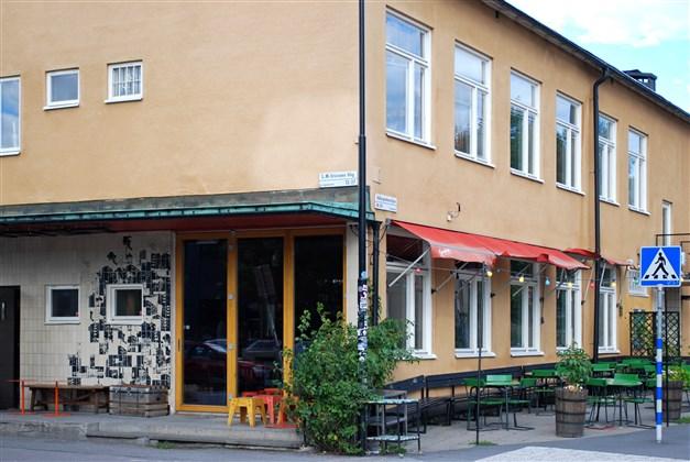 Populära restaurang Landet vid Telefonplan