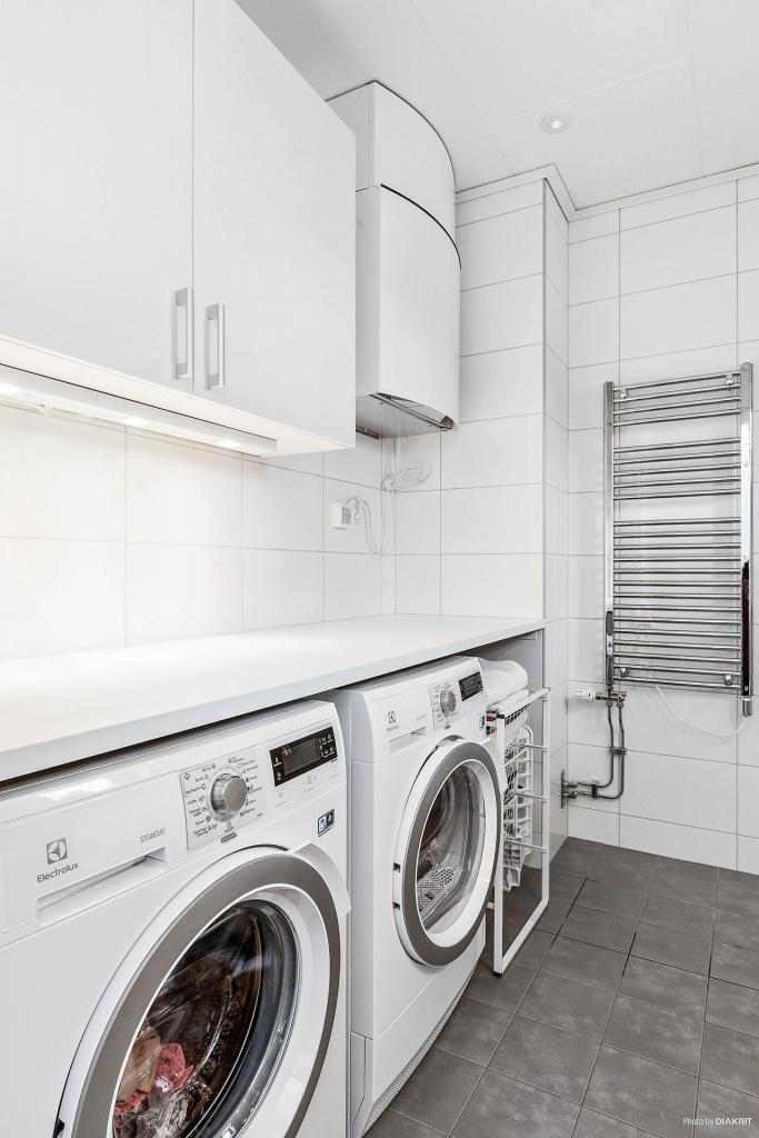 Tvättavdelning