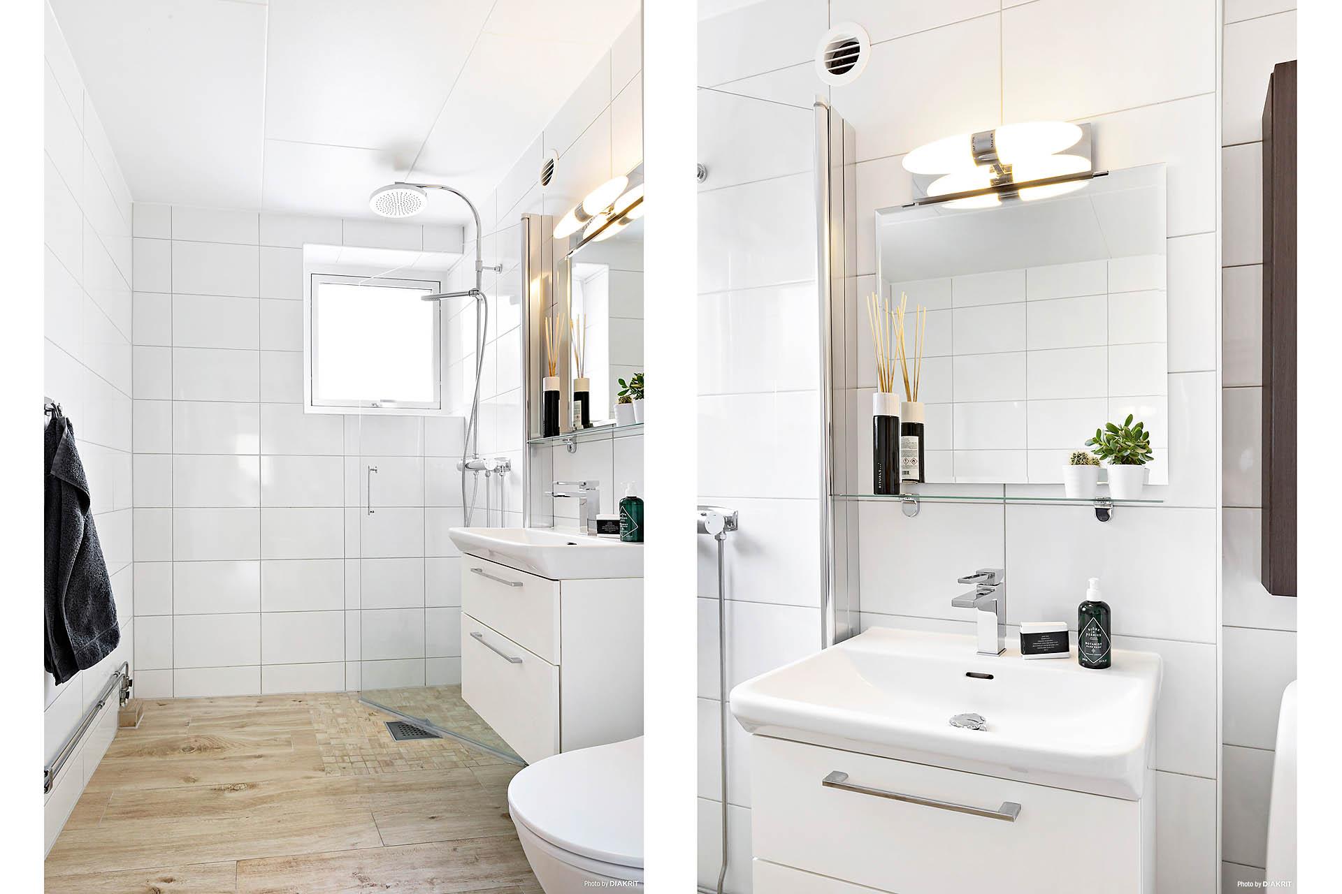 Helkaklat badrum från 2015.