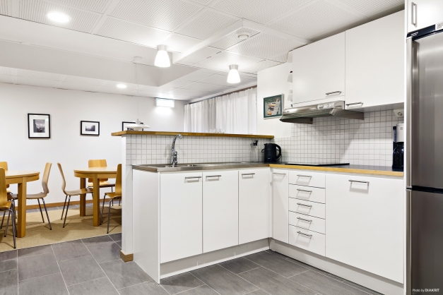 Festlokal med kök i källaren