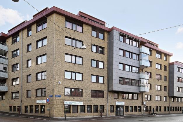 Fasad Bäckegatan/Fjällgatan