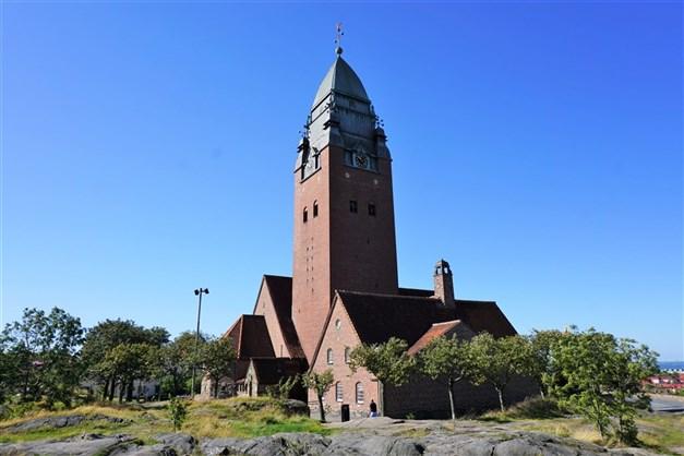 Vackra Masthuggskyrkan - enastående utsikt