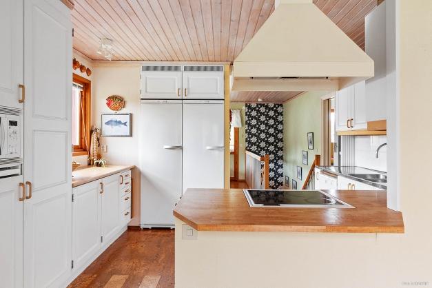 Köket sett från tvättdelen