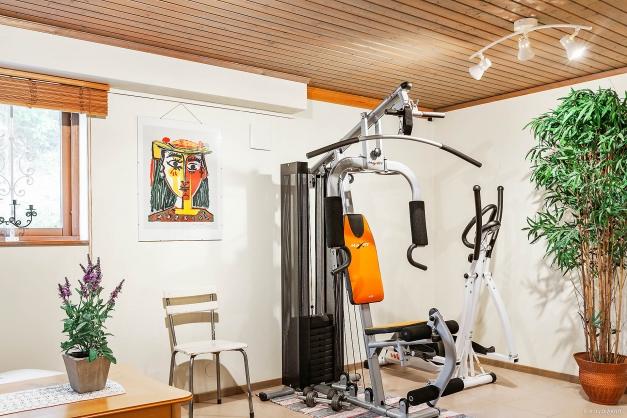 Gym med gott om plats