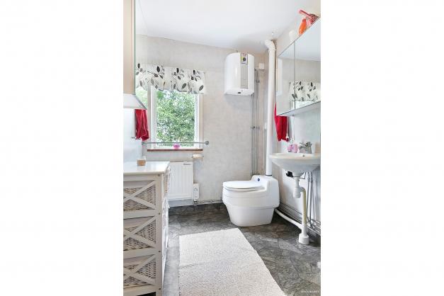 Duschrum med separett
