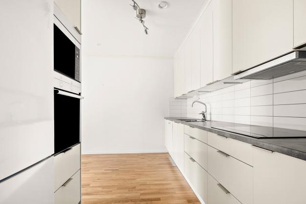 Köket med vitvaror ifrån Siemens.