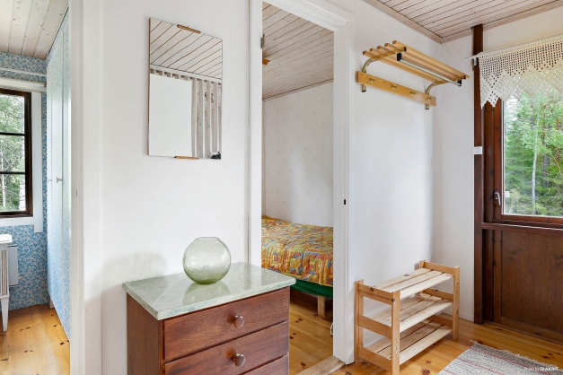 Passage intill sovrummen