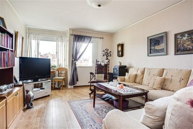 Fin bostadsrätt på bottenvåning med sjönära läge!