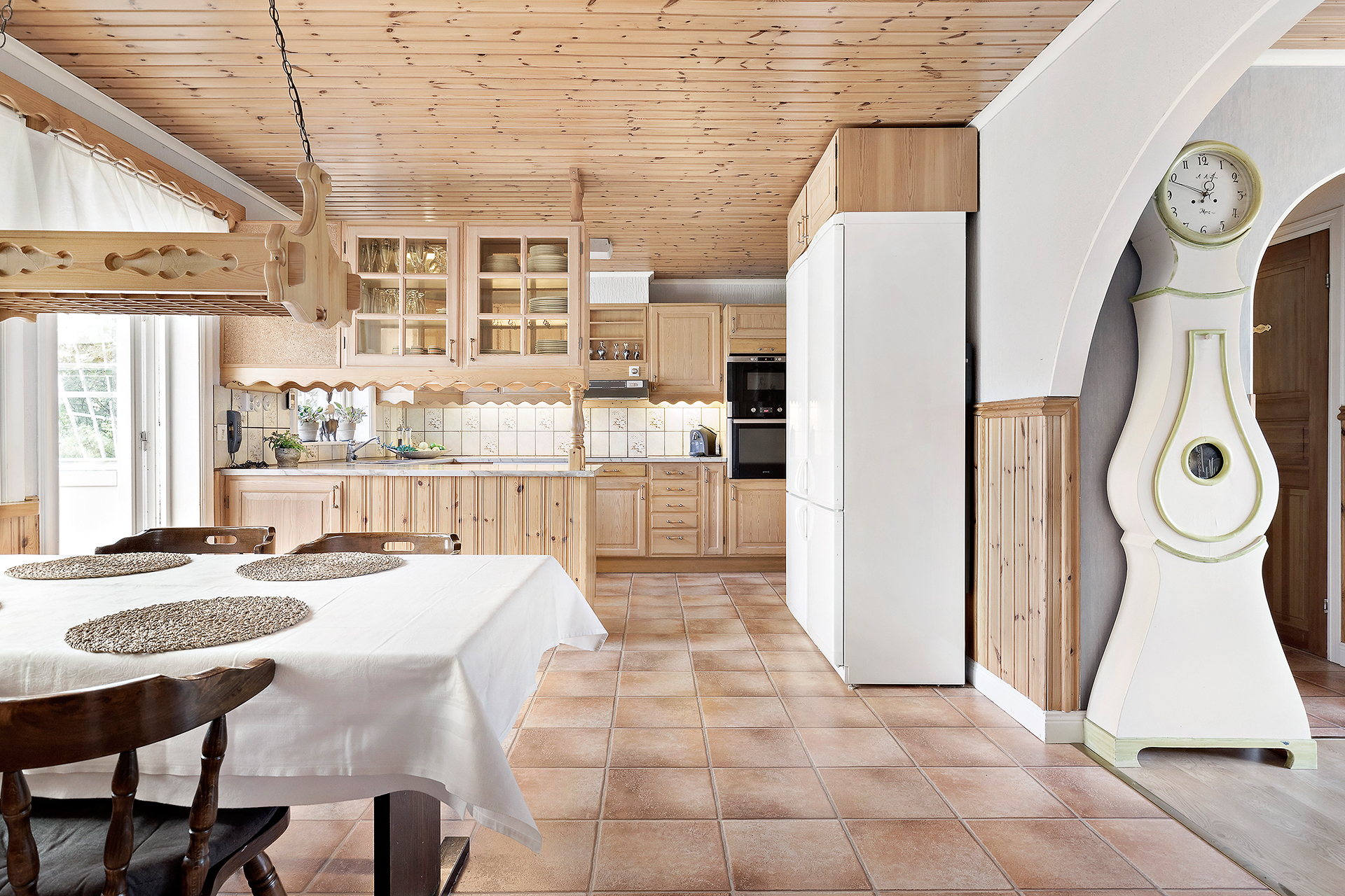 Matplats i kök