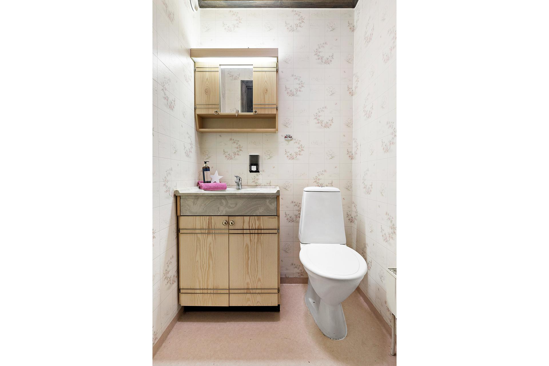 Toalett, källarplan