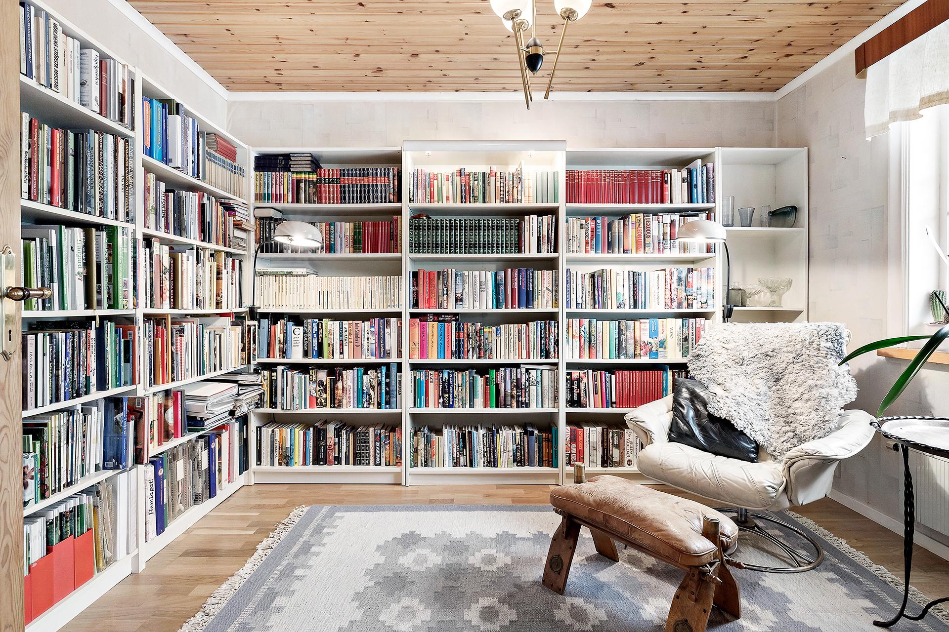 Sovrum 1/bibliotek