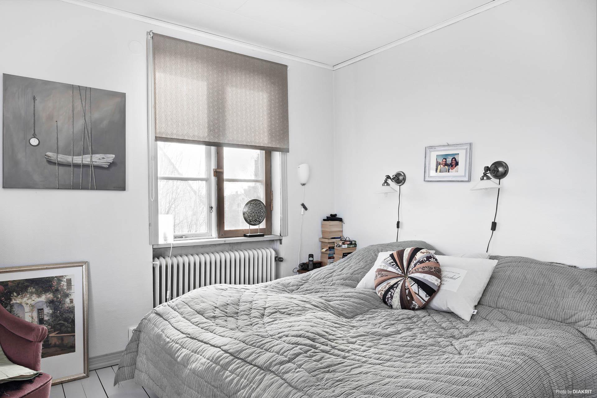 Sovrum 2 av 3.