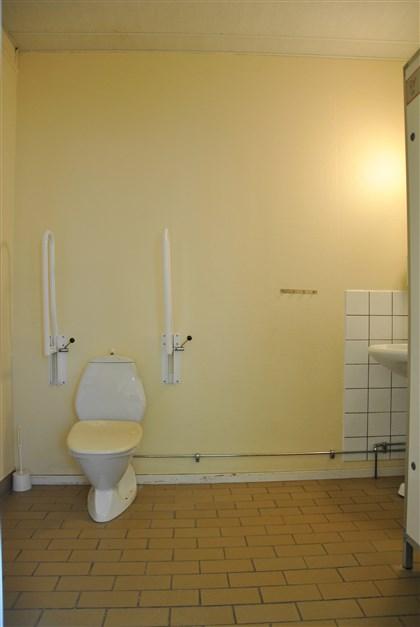 Handikappanpassad toalett