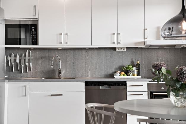 Stilfullt kök med snygga materialval