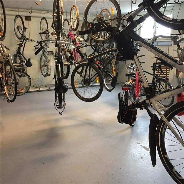Cykelförråd