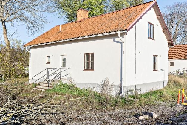 Husets söder/väst fasad