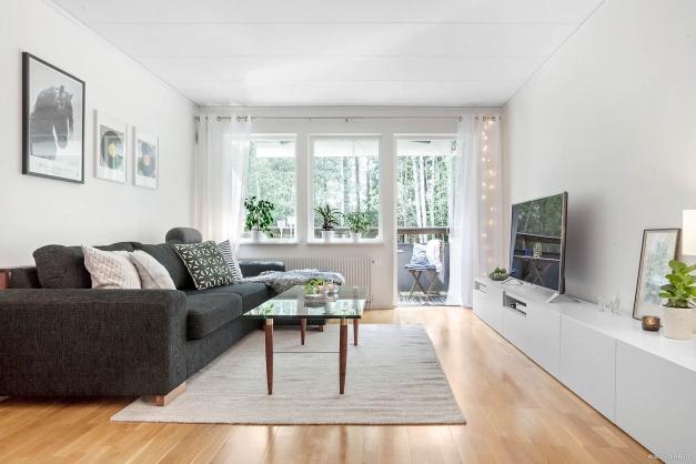 Stort och möblerbart vardagsrum