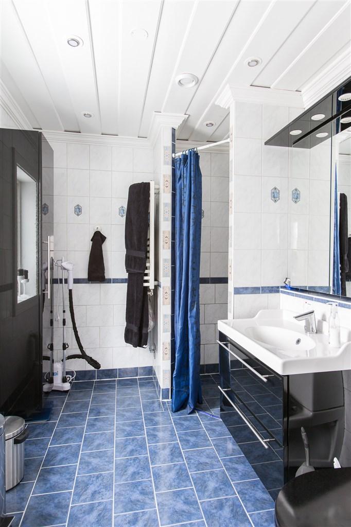 Dusch och toalett på entréplanet
