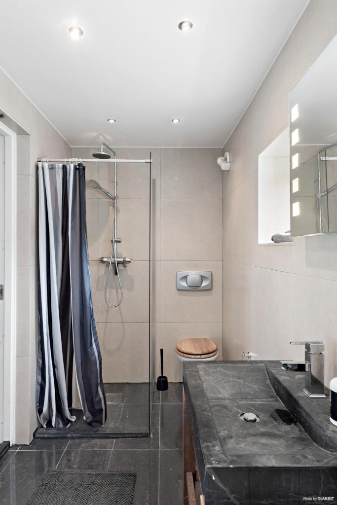 Duschen och wc