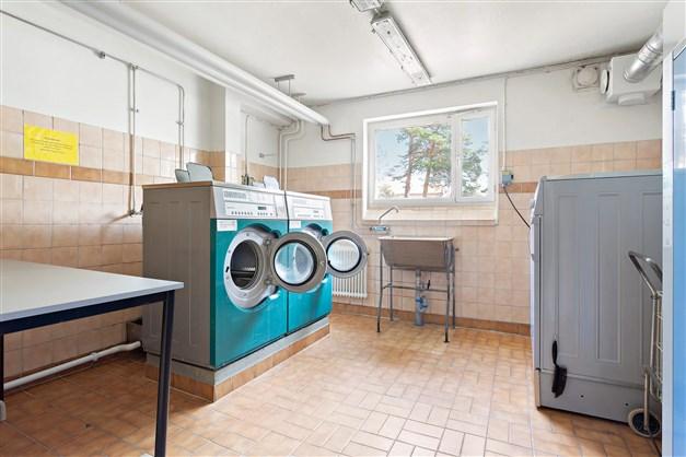 Bild från föreningens tvättstuga