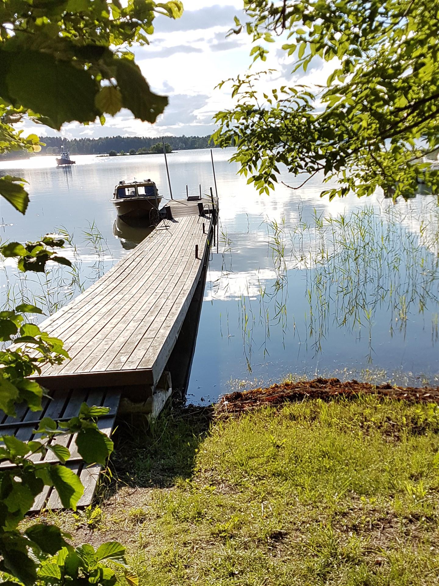 Båtplats på Löparö