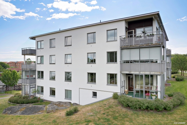 Lägenheten är den längst ner till höger