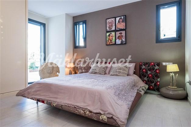 Villa 3 - Sovrum 2 med badrum en-suite