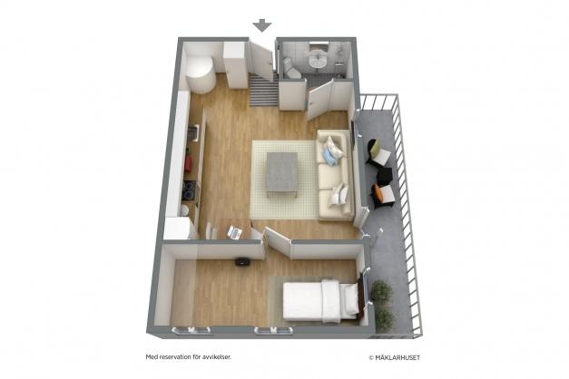 Planlösning 3D