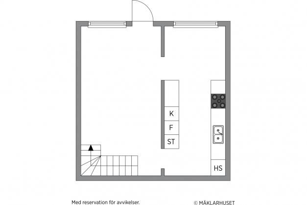 Planskiss markplan / nedanvåning