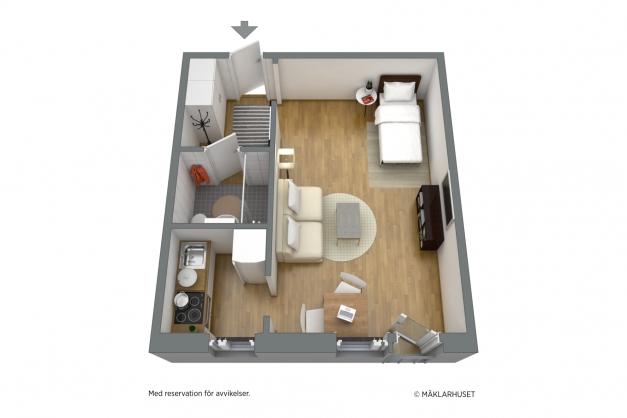 Planskiss 3D