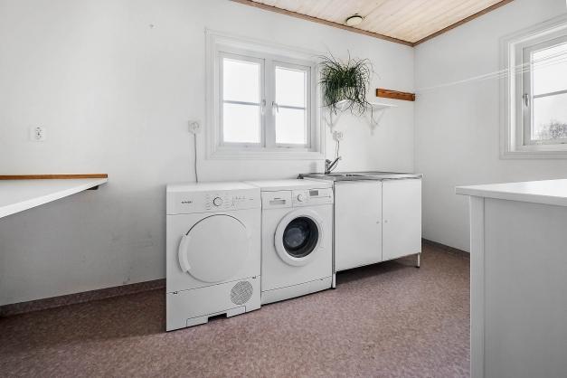 Tvättstuga.