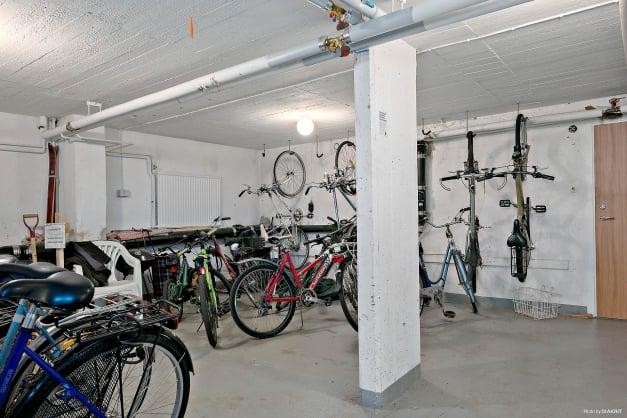 Föreningens gemensamma cykelrum