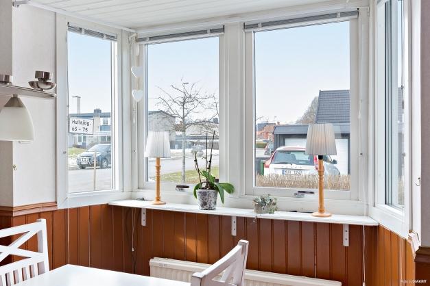 Gavelläge / vy från köksfönstret