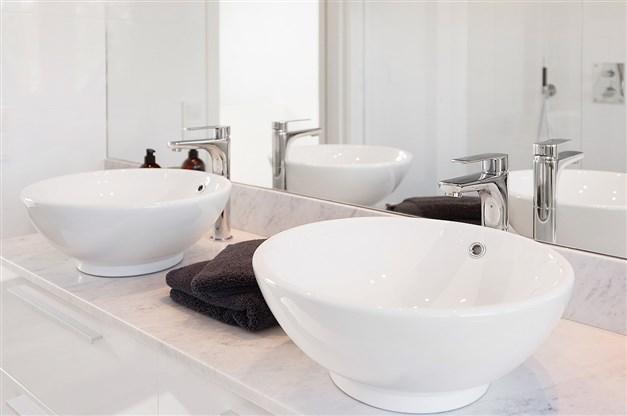 Mycket exklusivt dusch/badrum