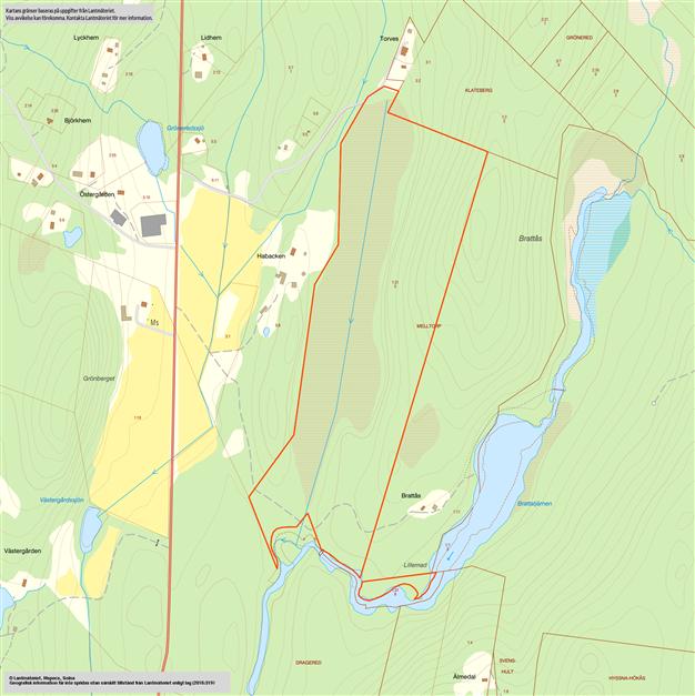 Karta över gränserna