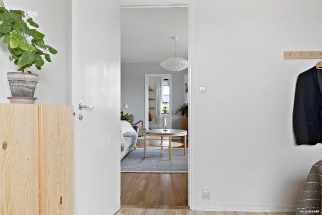 Sovrum och vardagsrum i fil