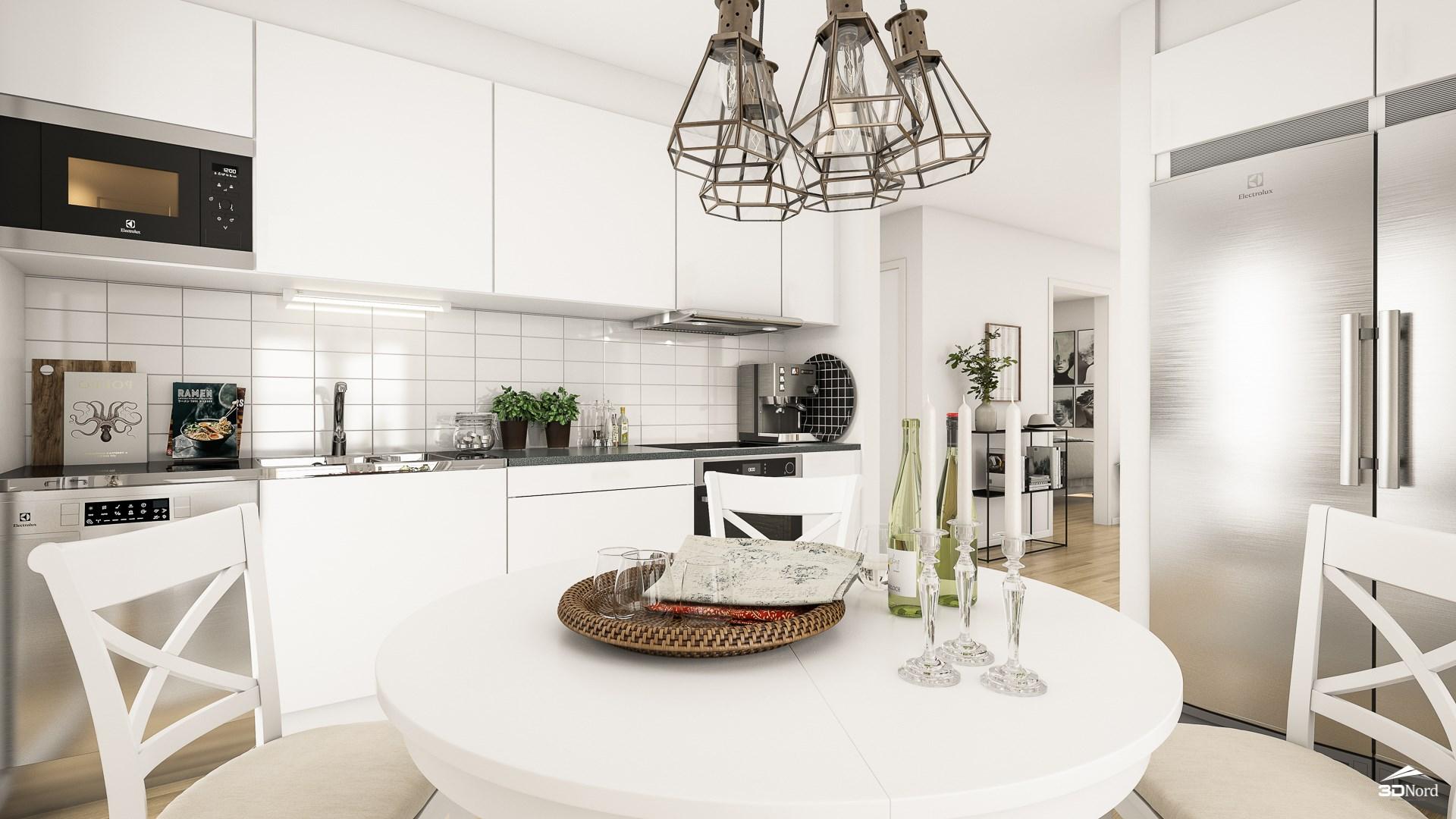 Kök i en 3:a Bilderna är illustrationer och avvikelser kan förekomma.