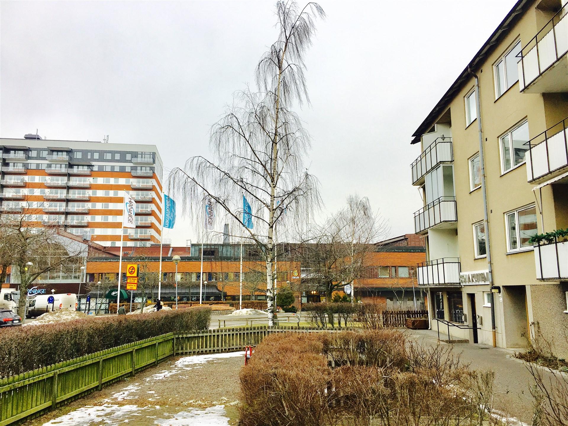 Helt nära Haninge Centrum