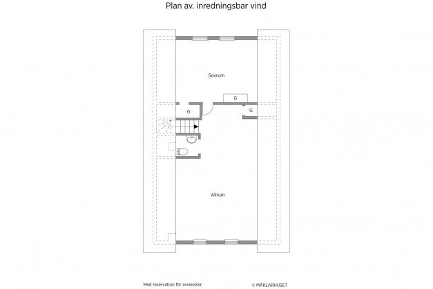 Planritning plan 2
