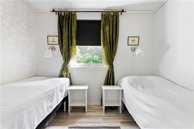 Sovrummet vid hallen
